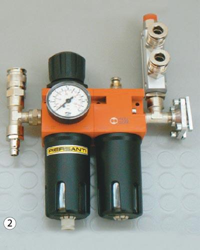 filtro, riduttore, lubrificatore